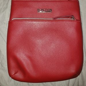 Kenneth Cole Reaction red crossbody purse